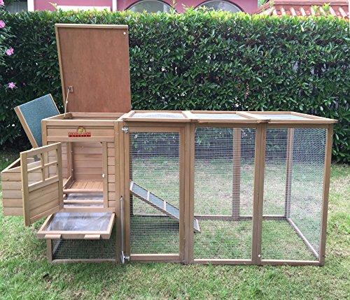 Pets imperial blenheim pollaio gabbia con recinto lungo for Costruire un pollaio con i pallet