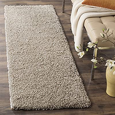 "Safavieh California Shag Collection SG151-1010 White Area Rug (9'6"" x 13')"