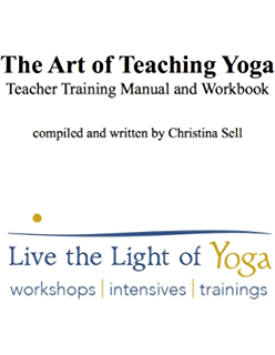 Yoga resource practice manual kindle edition by darren rhodes the art of teaching yoga teacher training manual and workbook live the light of fandeluxe Choice Image