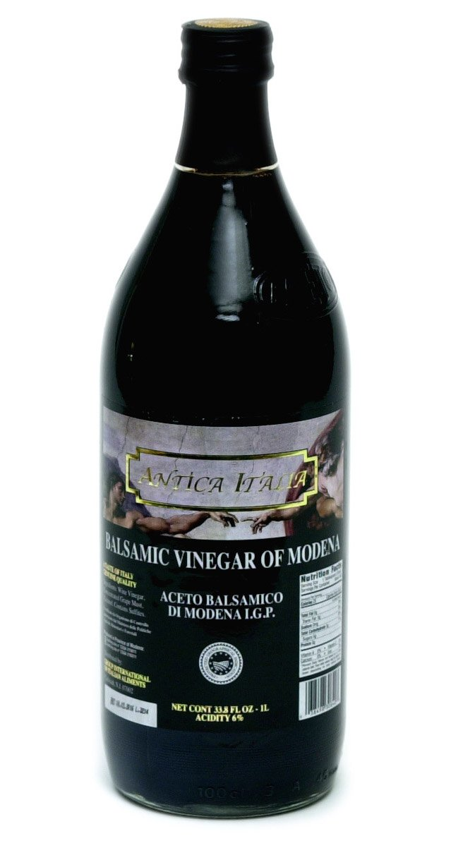33.8 Ounce Antica Italia Aged Italian Balsamic Vinegar of Modena (1 Liter)