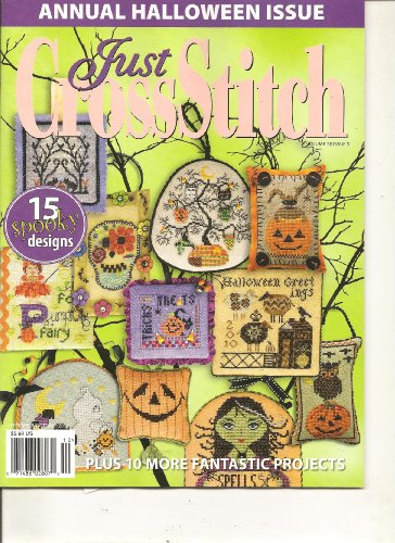 Just Cross Stitch Magazine (Annual Halloween Issue, September October 2010)