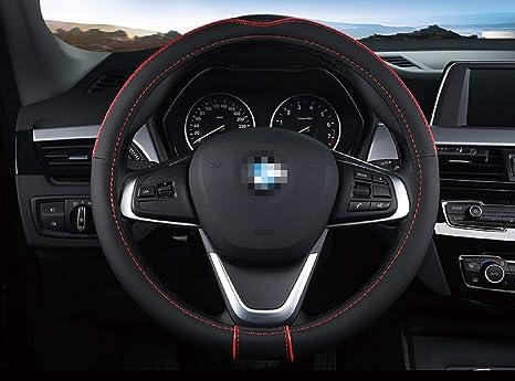 Amazon.com: SAN QING Car Steering Wheel Cover Comfortable ...