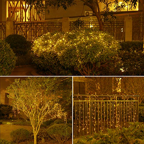 INLIFE LED String Lights with Remote Control, LED Waterproof Decorative Lights Dimmable, Copper Wire Lights for DIY Bedroom, Patio, Garden, Wedding, Parties (3 Packs)