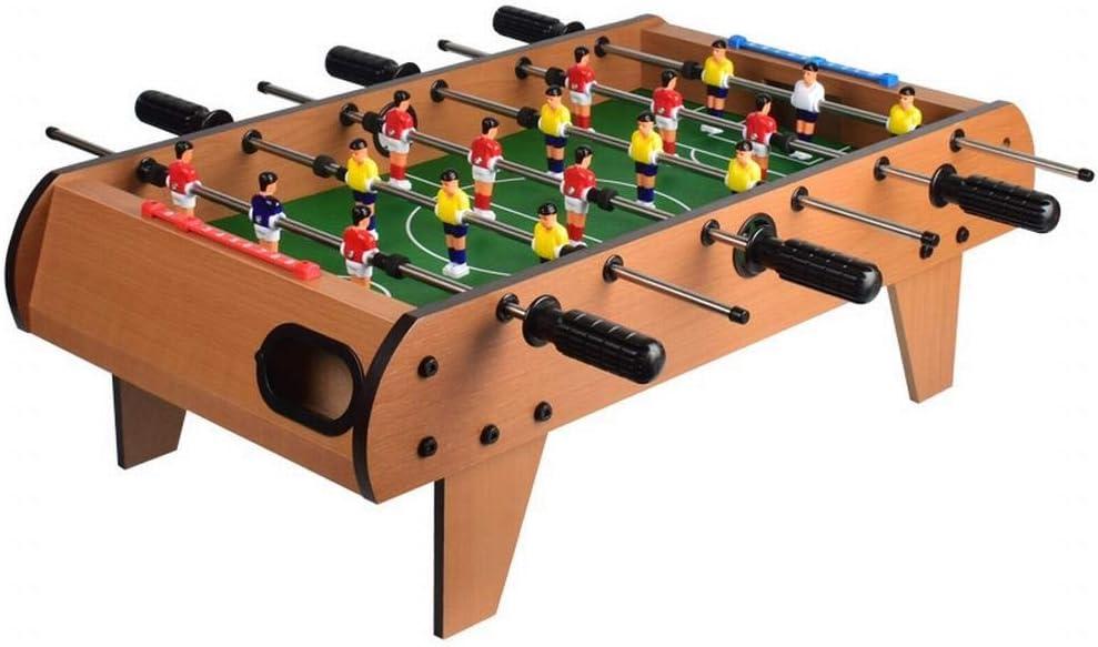 FANCYKIKI Máquina De Fútbol De Mesa For Niños, Escritorio Grande, Juego De Mesa Doble, Juego De Fútbol De Mesa For Adultos, Madera De 6 Polos (Size : 68 * 37 * 23cm):