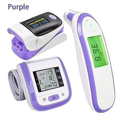 Finger Pulso oxímetro de pulso Digital Health Care termómetro Electrónico de infrarrojos FingerTIP Pulso oxímetro de