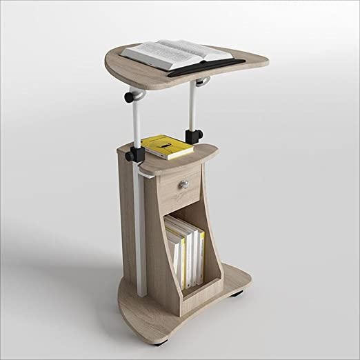 Zaixi Escritorio móvil Altura Ajustable Mesa Vertical Escritorio ...