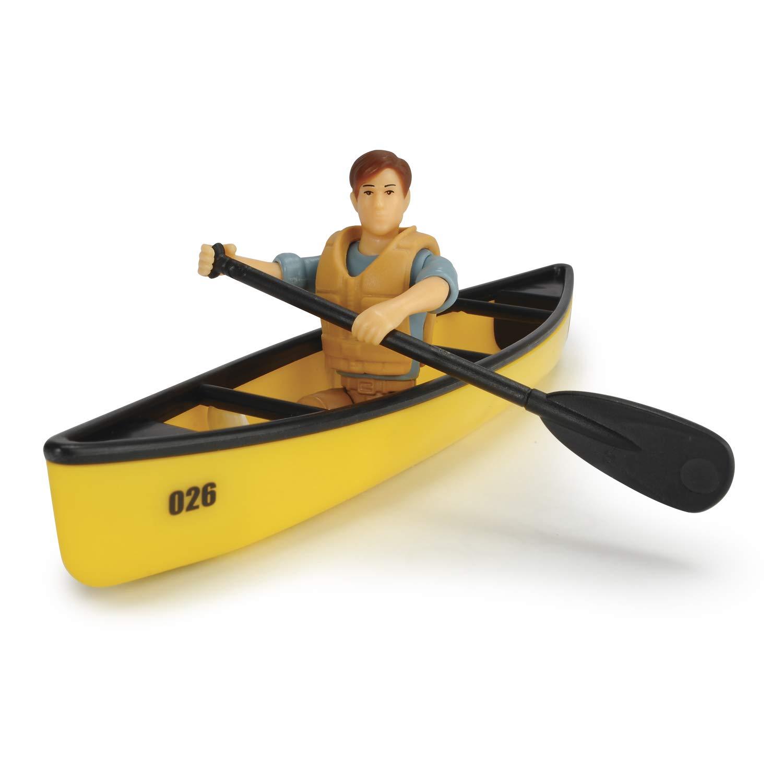 22 cm 203835004 Colore Arancione Dickie- Playlife Camping Set Playset Veicolo e Personaggio