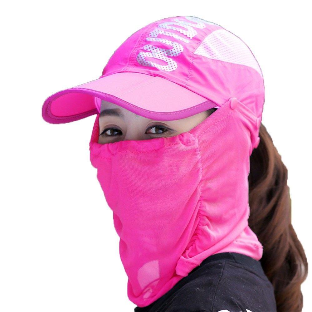 PLQ Sombreros de Pesca al Aire Libre Sombrero de Cubo de Sol para Viajar Carta Impresión de Malla Velo de Desierto Gorra de Pico