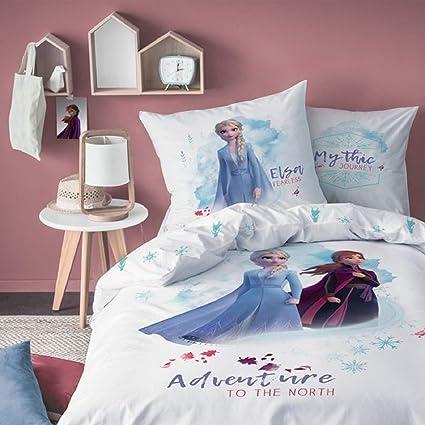 Cti Disney Frozen 2 Anna Elsa Olaf Biancheria Da Letto Per Ragazza 80 X 80 Cm 135 X 200 Cm Set Di Biancheria Da Letto Casa E Cucina Nsb Group Com