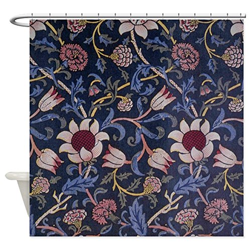 William Morris Iron (CafePress - William Morris Evenlode design Shower Curtain - Decorative Fabric Shower Curtain)