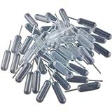 Yueton 50pcs Clear 4ml Liquid Dropper Pasteur Pipette, Plastic Squeeze Transfer Pipettes