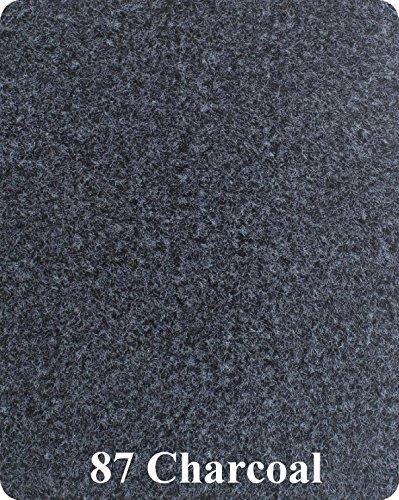 Marine Flooring Plus 20 Oz Boat Carpet Cut Pile 8.5 Wide (15', 20', 25', 30') - Charcoal (Charcoal, 8.5' x 15') ()