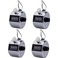 Nuluxi Handmatige mechanische teller, handmatige meter, sport digitale handteller met vinger ringhouder voor…