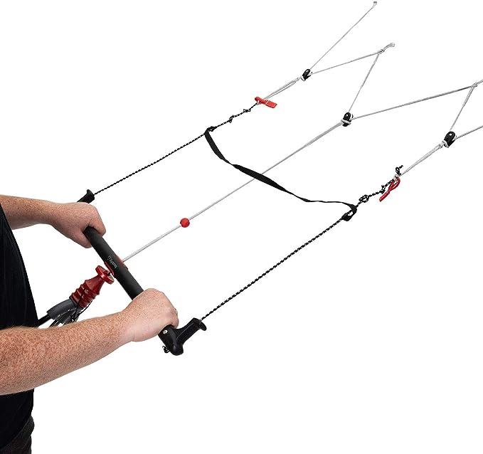 Skymonkey Quadbar para Kites de 4 líneas, Montaje Simple ...