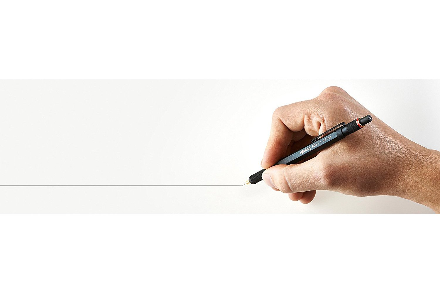 rOtring 1900181 800+ Mechanical Pencil and Touchscreen Stylus, 0.5 mm, Black Barrel by Rotring (Image #9)