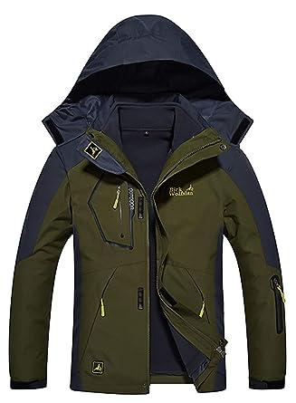 Amazon.com  Deodar Women s Men s Waterproof Ski Jacket 3-in-1 Windproof  Fleece Warm Coat for Rain Snow Hiking  Clothing 33eb0be70