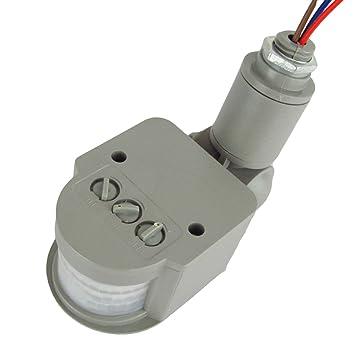 Sensor de movimiento por infrarrojos LED interruptor AC 220 V