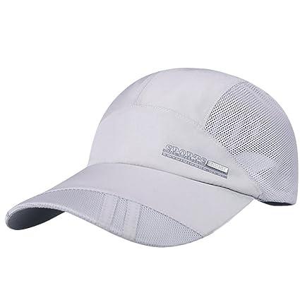 RETUROM Sombrero Plegable Rápido-Seco de Sun Gorras De Camionero ...