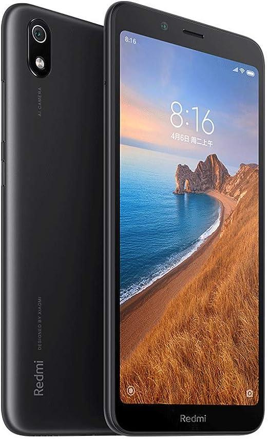 Xiaomi Redmi 7A Smartphone,2GB RAM 32GB ROM Dual SIM 5.45 Pantalla Completa HD, Qualcomm Snapdragon SDM439 Octa-Core Procesador,Fuente Grande,Cámara Trasera de 13MP Cámara Frontal de 5MP (Negro): Amazon.es: Electrónica