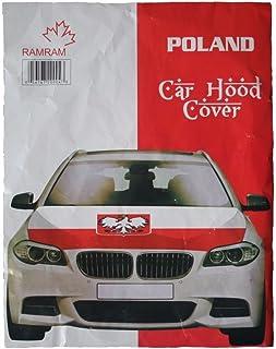 Poland - Car Hood Cover (100 x 124 cm)