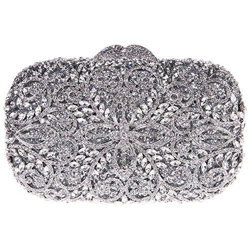 Fawziya Formal Bags For Women Purses And Handbag Wholesale-Silver