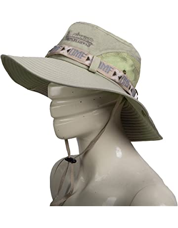 ae8f380a Fashion Summer Outdoor Sun Protection Cap Wide Brim Summer Hat for Fishing  Hiking,Camping &