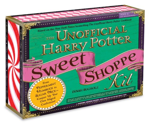 (The Unofficial Harry Potter Sweet Shoppe Kit: From Peppermint Humbugs to Sugar Mice - Conjure Up Your Own Magical Confections)