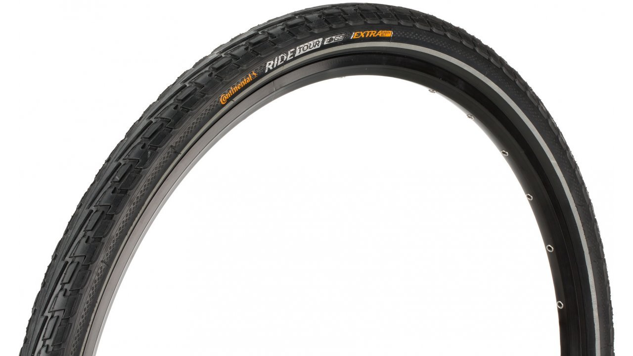 Continental Ride Tour City/Trekking Bicycle Tire, 24x1.75