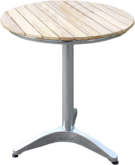 Table De Pub Bistrot Ronde Bois Aluminium ø 60cm Amazon