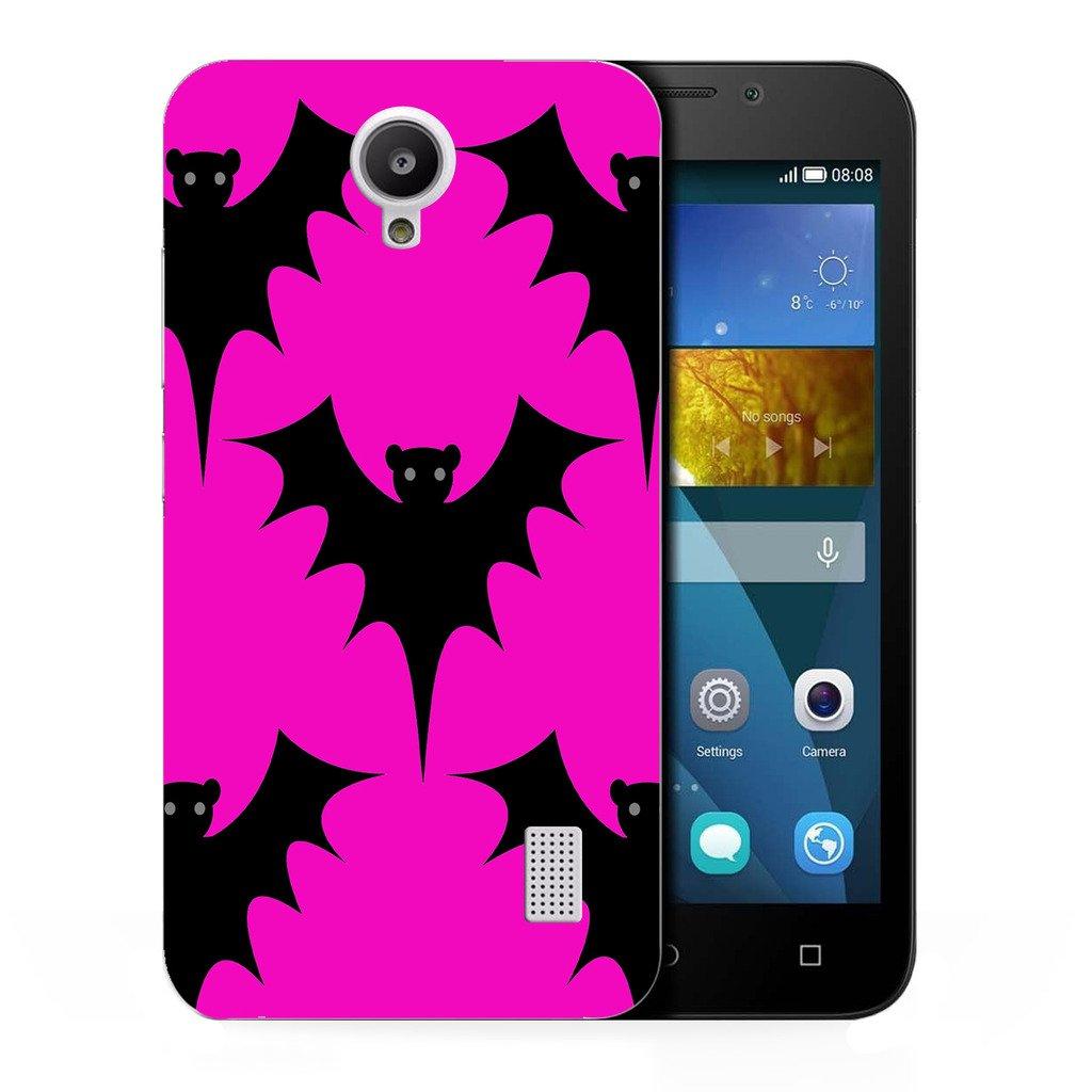 Bate de diseño Carcasa rígida para Huawei Y635, color rosa ...