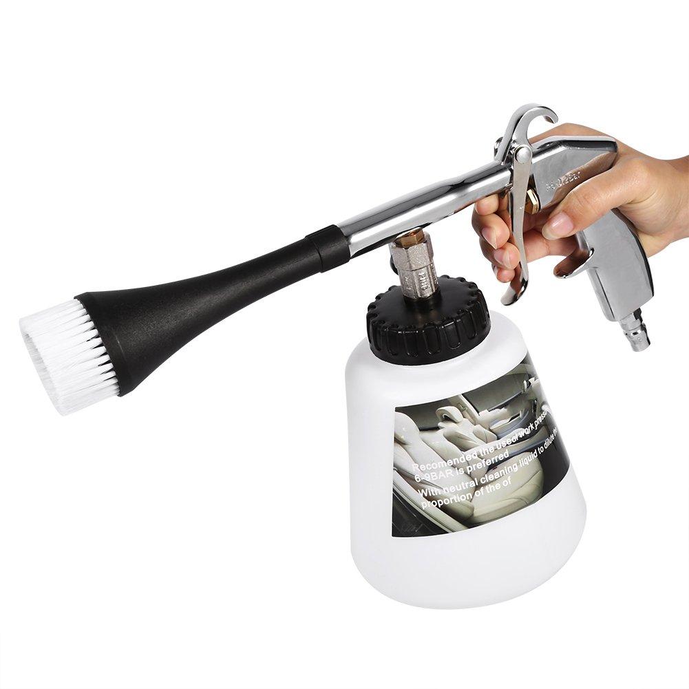 洗車用クリーニングガン エアーパルス フォーマスター ノズルスプレイヤーガン ボトル付き B0716XRHZ8