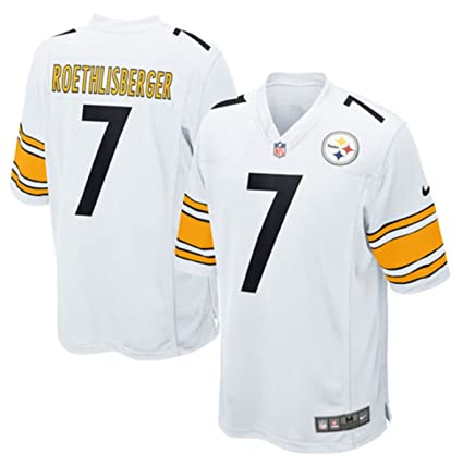 4a193e73f85 Nike Ben Roethlisberger Pittsburgh Steelers Youth White Jersey (Youth  Sizes) (Youth XL 18