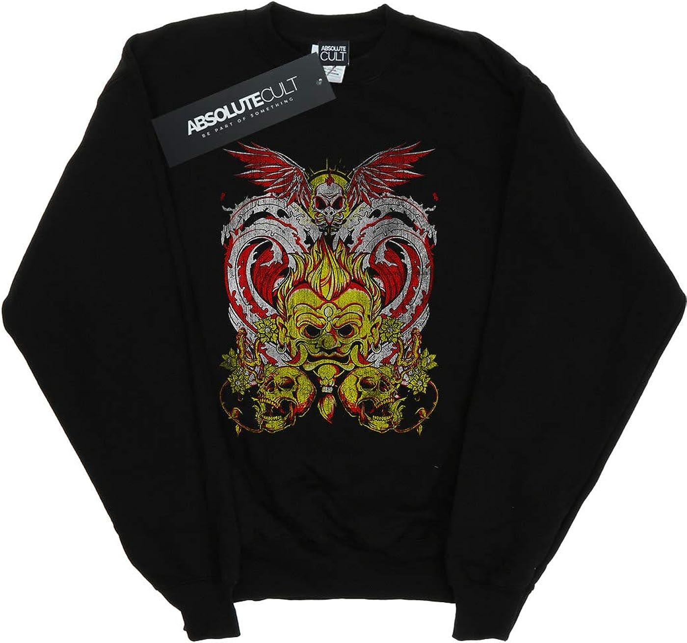 Absolute Cult Drewbacca Girls Dark Fire Sweatshirt