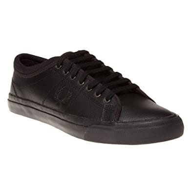0511e3629f6 Fred Perry Kendrick Tipped Cuff Leather Mens Trainers  Amazon.co.uk  Shoes    Bags