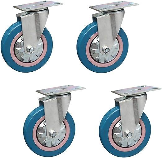 wheel 4 Pack 4 Pulgadas Azul Mudo Plano Comedor Coche Rueda ...