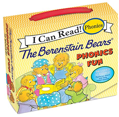 The Berenstain Bears 12-Book Phonics Fun!: Includes 12 Mini-Books Featuring Short and Long Vowel Sounds (My First I Can Read) Paperback – June 25, 2013