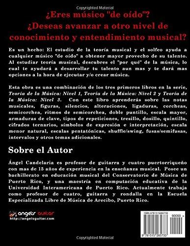 Teoría de la Música: Niveles 1 - 3: Amazon.es: Candelaria, Ángel ...