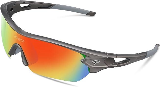 Gafas de sol deportivas polarizadas de Torege, con 5 lentes ...