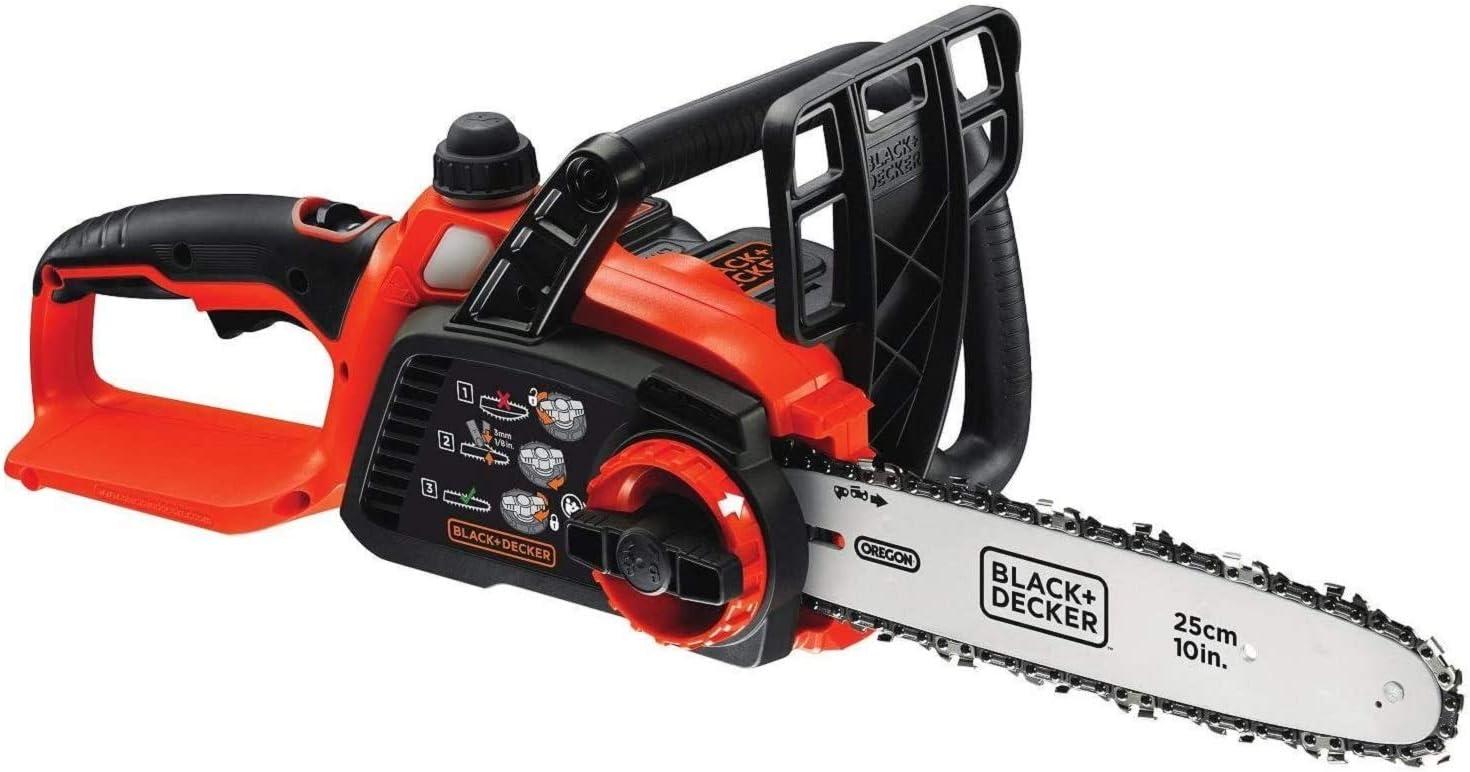 BLACK+DECKER GKC1825L20-XE 18V 25cm Lithium Chainsaw