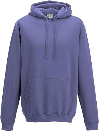 Just Hoods Sweat shirt à capuche Homme True Violet