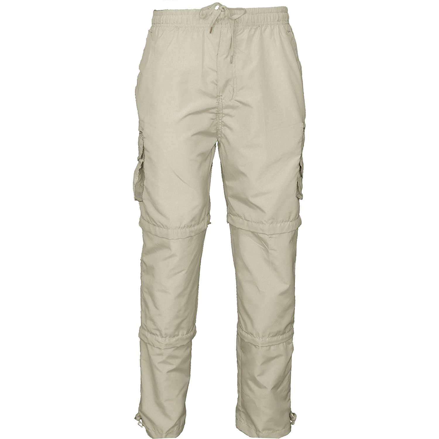 08510cff551a MENS 3 IN 1 TROUSERS SHORTS ZIP OFF COMBAT CARGO SUMMER WORK JOGGING PANTS  M-3XL  Amazon.co.uk  Clothing