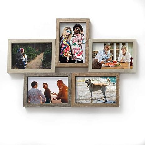 Shelf Decor Picture Frame Wood Frame,Photo Frame Unique Photo Frame 3.5 x 5 Hardwood Photo Frame Vintage Frame Vintage Wood