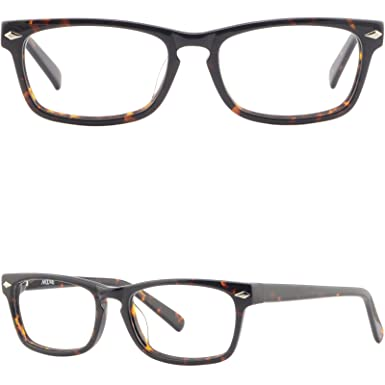 9d51676c6f Image Unavailable. Image not available for. Color  Rectangle Tortoise Shell  Plastic Frame Acetate Glasses ...