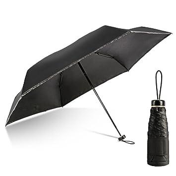Paraguas De Bolsillo Paraguas Plegable De Peso Ligero Vinilo UV Paraguas,D