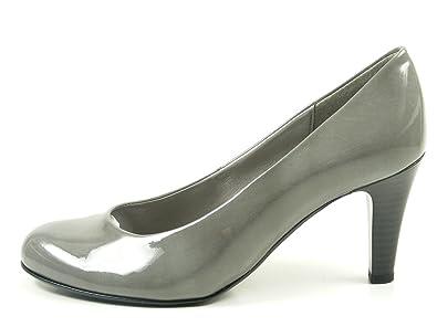 Gabor 75 210 Schuhe Damen Kaffir Lack Lack Lack Pumps Weite F, Schuhgröße 40 6feb07