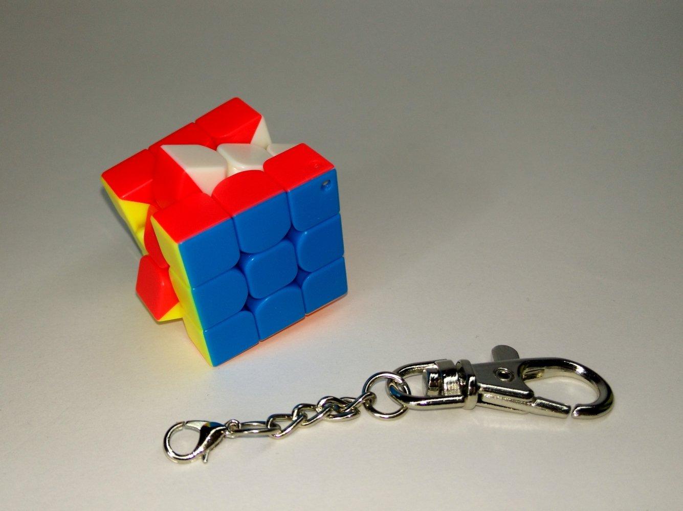 LEVEL25 Llavero cubo mágico cube puzzle regalo original 3x3, 3x3x3, velocidad