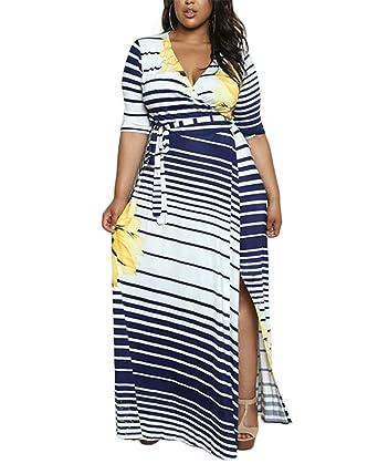 224a3d0e14 CACNCUT Women s Plus Size Dress