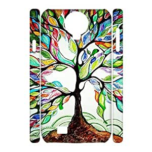Vintage Flowers Watercolor DIY 3D Cover Case for SamSung Galaxy S4 I9500,personalized phone case ygtg-703338