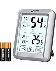 HABOR Room Hygrometer, [Upgraded Version] Digital Thermometer Hygrometer