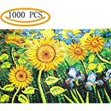 Jigsaw Puzzles 1000 Pieces Sunflower Vincent Van Gogh Artwork Art for Teen Adult Grown Up Puzzles Large Size Toy Educational Games Gift Jigsaw Puzzle Jigsaw Puzzle 1000 PCS (Sunflower)